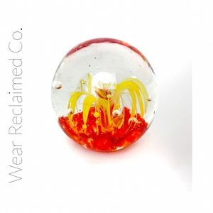 VINTAGE EDINBURGH Blown Glass Paperw…